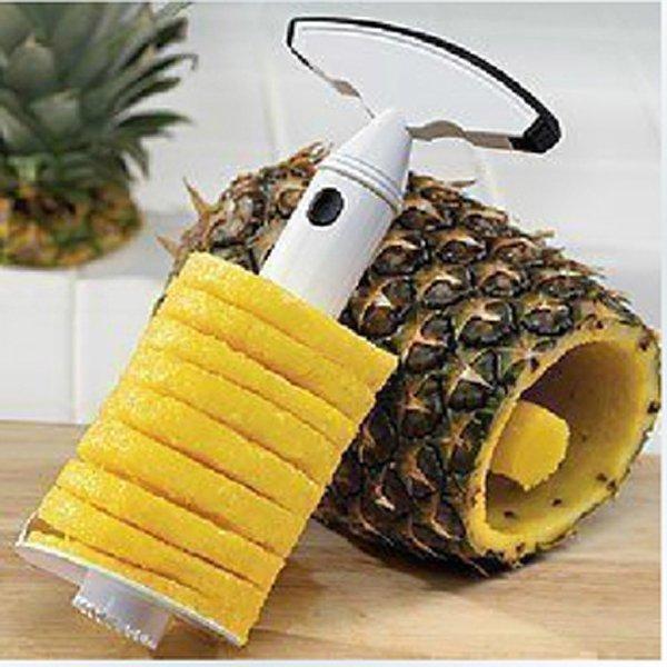 BO雜貨【SV9530】削鳳梨神器 菠蘿削皮器 去心剝皮切片 鳳梨取瓤器 鳳梨去皮去核抽芯