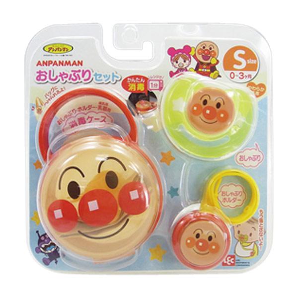 【真愛日本】15091500084 安撫奶嘴套裝組S-0-3 麵包超人 安撫奶嘴 奶瓶奶嘴 嬰幼兒用品