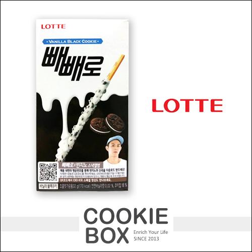 韓國 LOTTE PEPERO 白巧克力棒 樂天 巧克力 白巧克力 餅乾 餅乾棒 *餅乾盒子*