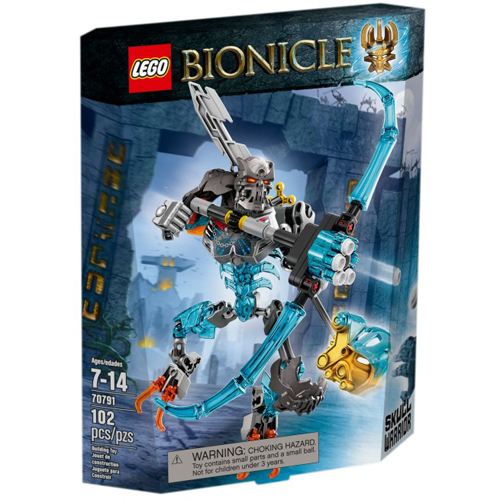 樂高積木LEGO《 LT70791 》2015 年 Bionicle 生化戰士系列 - 骷髏戰士