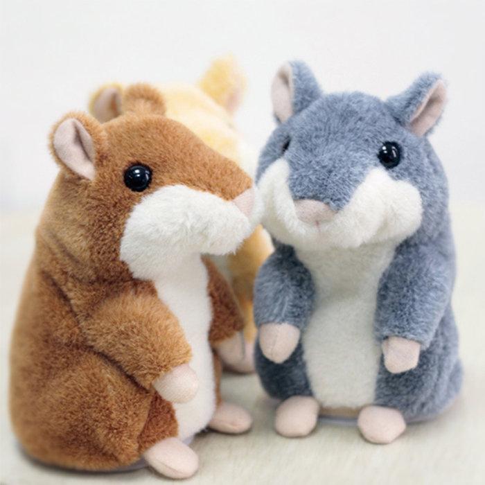 【酷創意】俄羅斯倉鼠 會學人說話的倉鼠 會動 情人節禮物 聖誕送禮