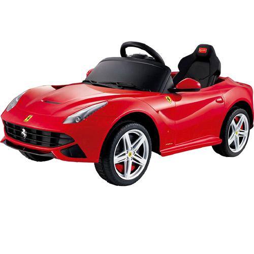 【奇買親子購物網】81900法拉利 F12 電動車 (紅色/白色/黃色/藍色)