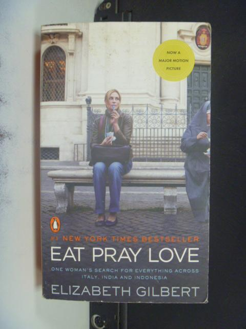 【書寶二手書T5/一般小說_KFJ】Eat, Pray, Love_Elizabeth Gilbert