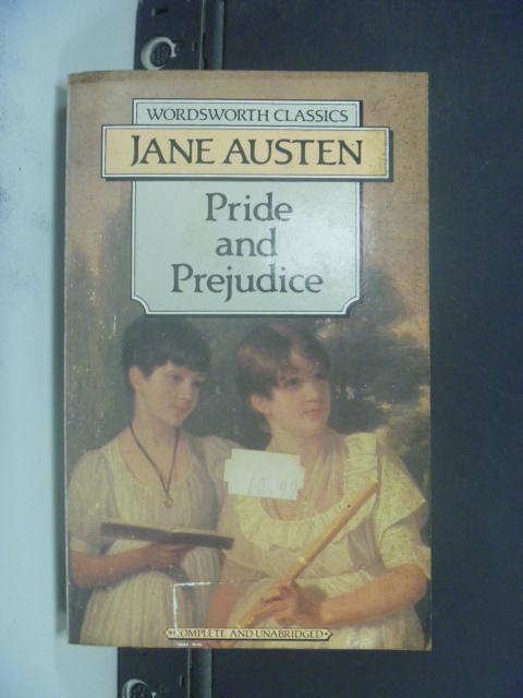 【書寶二手書T1/原文小說_GDA】Pride & Prejudice_Austen, Jane