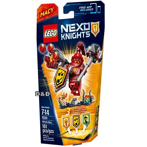 樂高積木LEGO《 LT70331 》Nexo Knights 未來騎士系列 - 終極未來騎士梅西