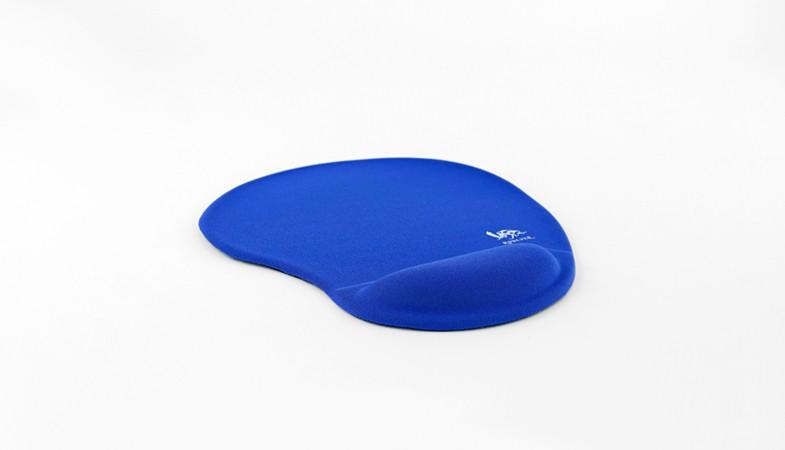 樂點生活●laclick 軟骨頭舒壓護腕滑鼠墊-藍 NKC-M13-1