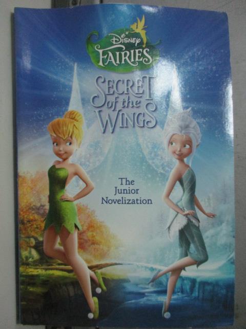 【書寶二手書T1/兒童文學_ORX】Secret of the Wings_The Junior Novelization
