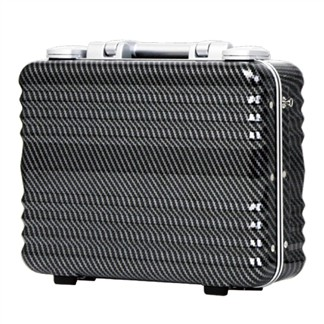 日本 LEGEND WALKER 6204-34-14吋 德國拜耳PC公事登機箱 碳纖黑