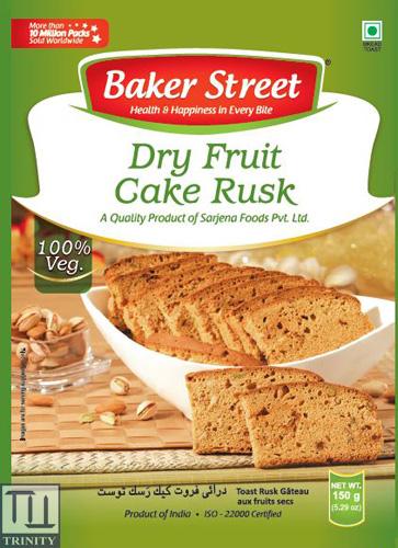 Bakers Street Dry Fruits Cake Rusk   印度堅果烘培吐司