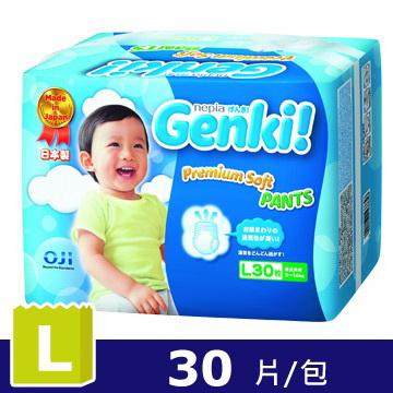 日本王子Genki褲型元氣褲L(30片/包)