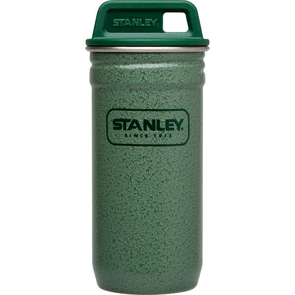 ├登山樂┤ 美國 Stanley Shot Glass Set 4x59ml酒杯+不鏽鋼杯 - 錘紋綠 #10-01705-GN