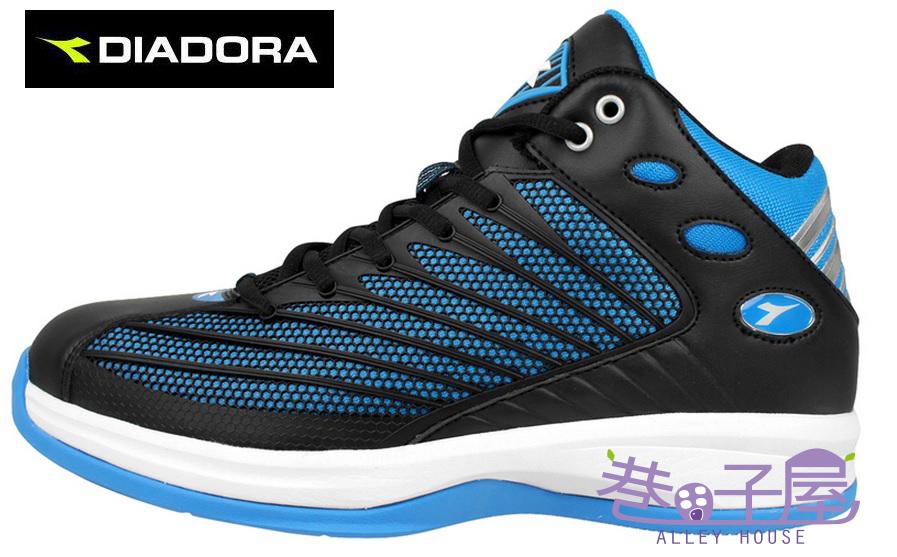 【巷子屋】義大利國寶鞋-DIADORA迪亞多納 男鞋籃球鞋 [2030] 黑藍 超值價$1036