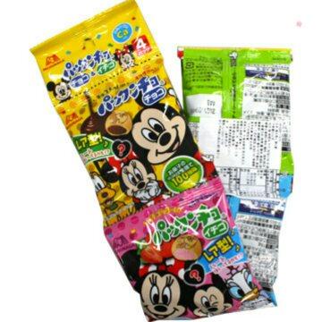 有樂町進口食品 日本《森永》點心餅4連62g 4902888179181