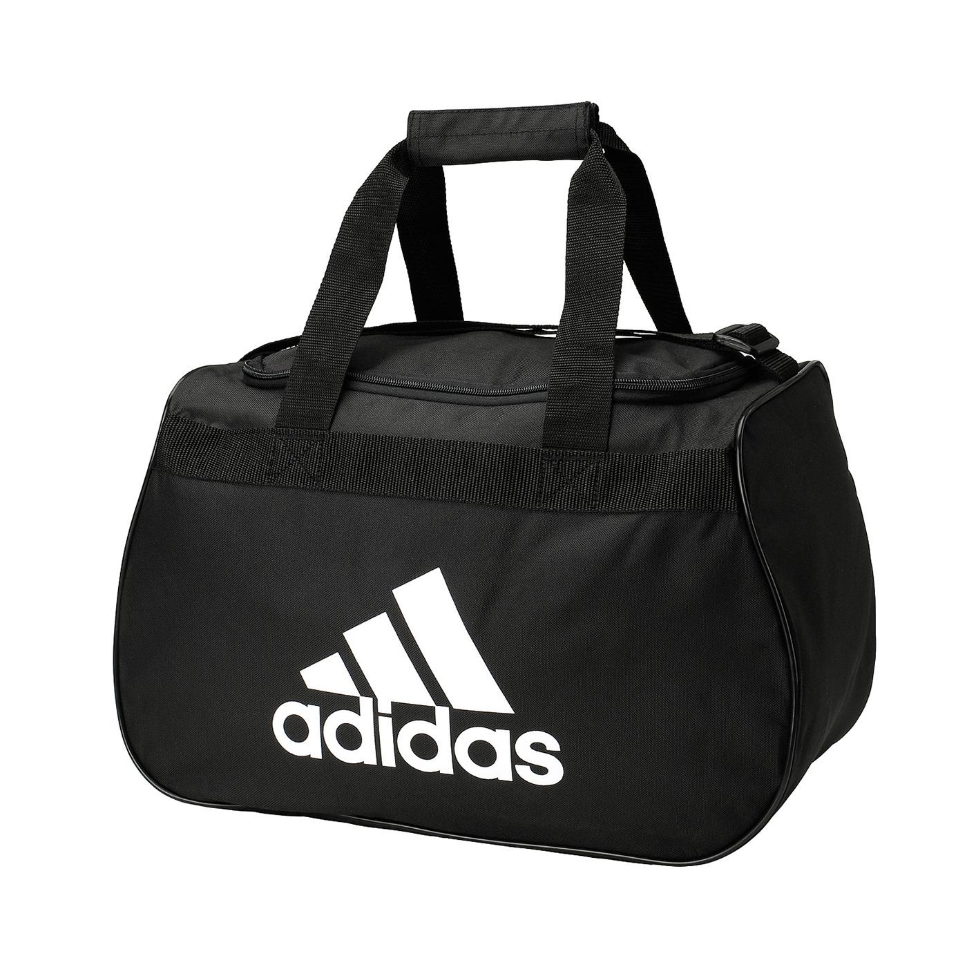 美國百分百【全新真品】Adidas 旅行袋 愛迪達 大容量 運動 行李 手提 肩背 側背包 男包 女包 黑色 A292