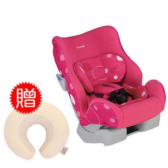 【悅兒樂婦幼用品舘】Combi 康貝Mamalon 汽車安全座椅-桃紅色【送Combi毛巾布護頸枕(米)x1】