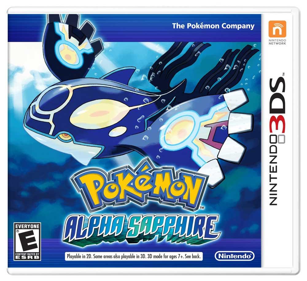 3DS 神奇寶貝 始源藍寶石 英文美版 Pocket Monster Alpha Sapphire