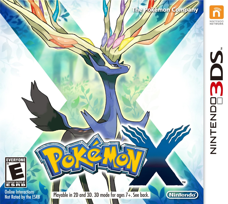 3DS 神奇寶貝 X 英日多國語言美版(限美規機使用) Pocket Monsters X Pokemon X