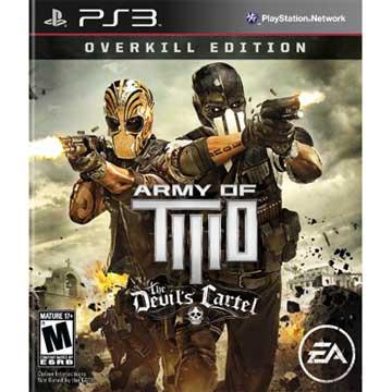 PS3 無間特攻 非法涉入過度殺戮版 英文美版 Army of Two
