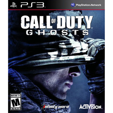 PS3 決勝時刻 魅影 英文美版(附贈地圖特點) CALL OF DUTY GHOSTS
