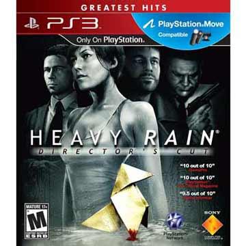 PS3 暴雨殺機導演版 英文美版HEAVY RAIN DIRECTOR'S CUT