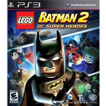 PS3 樂高蝙蝠俠 2:DC 超級英雄英文美版 LEGO BATMAN 2 DC SUPER HEROES