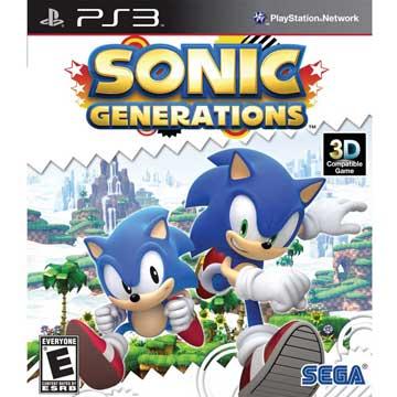 PS3 音速小子:世代 純白時空 英日文美版 Sonic:Generations
