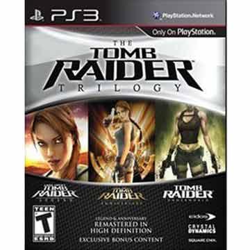 PS3 古墓奇兵三部曲 Tomb Raider Trilogy 英文美版