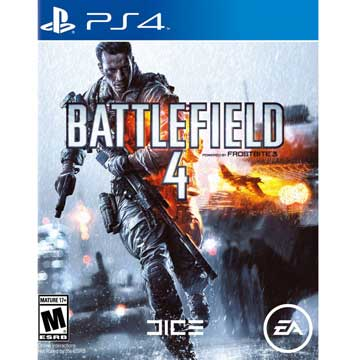PS4 戰地風雲4 英文美版 PS4 Battlefield 4 Battle field 4