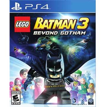 PS4 樂高蝙蝠俠 3:飛越高譚市 英文美版(附贈道具密碼表) LEGO Batman 3