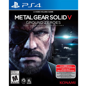 PS4 潛龍諜影 5:原爆點 英文美版 Metal Gear Solid V: Ground Zeroes