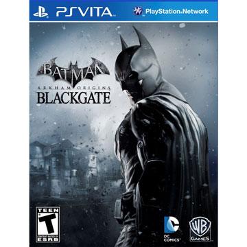 PSV 蝙蝠俠:阿卡漢始源 黑門 英文美版 PS VITA Batman: Arkham Origins Blackgate
