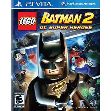 PSV 樂高蝙蝠俠 2:DC 超級英雄 英文美版 PS VITA Lego Batman 2:DC Super Heroes)