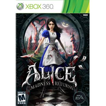 XBOX360 愛麗絲驚魂記︰瘋狂再臨 英文美版 Alice: Madness Returns