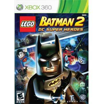 XBOX360 樂高蝙蝠俠 2:DC 超級英雄 英文美版 LEGO BATMAN 2 DC