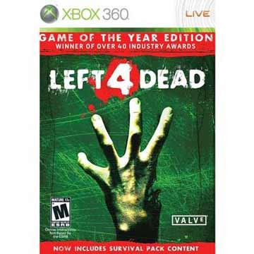 XBOX360 惡靈勢力 年度版 中英日多國語言白金美版 ( Left 4 Dead )支援XBOX ONE主機