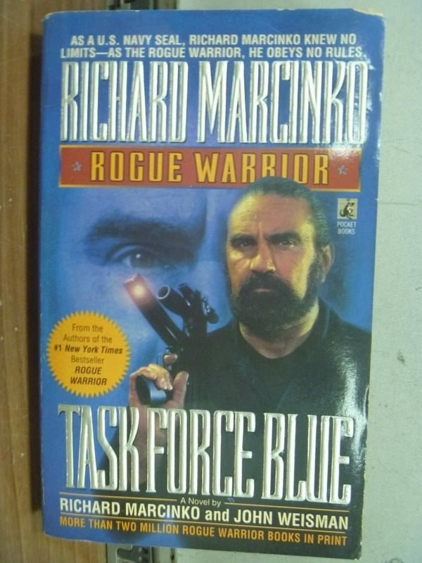 【書寶二手書T9/原文小說_MNX】Task Force Blue_Richard Marcinko