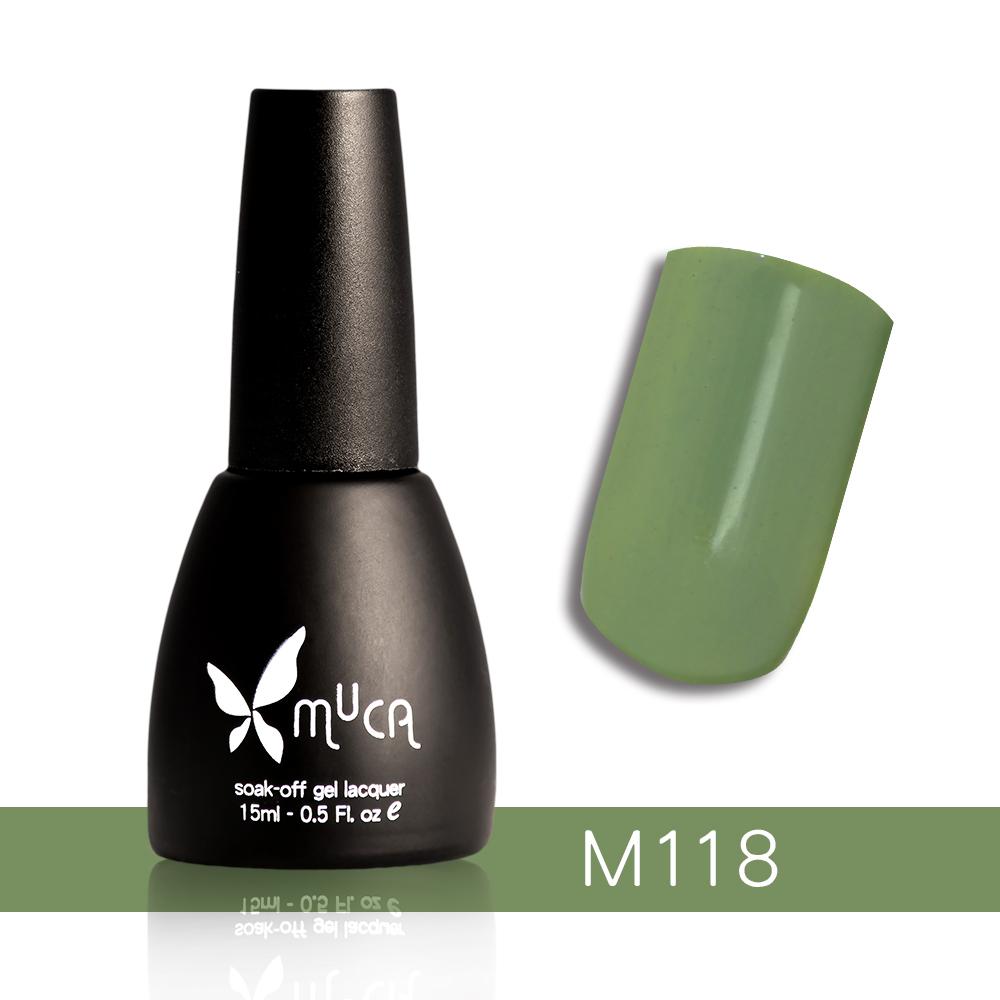 Muca沐卡 即期光撩凝膠指甲油 M118(15ml)