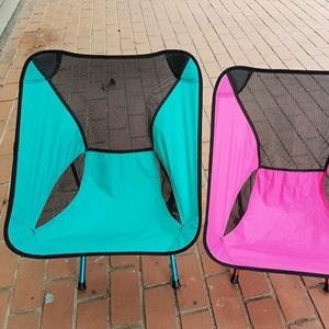 美麗大街【CP106010403】可調高度!新色 蜜桃粉  蒂芬尼藍  戶外休閒露營鋁合金便攜行摺疊椅子