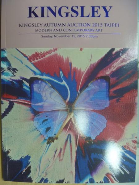 【書寶二手書T5/收藏_WGF】Kingsley autumn auction 2015_Mod..._2015/11