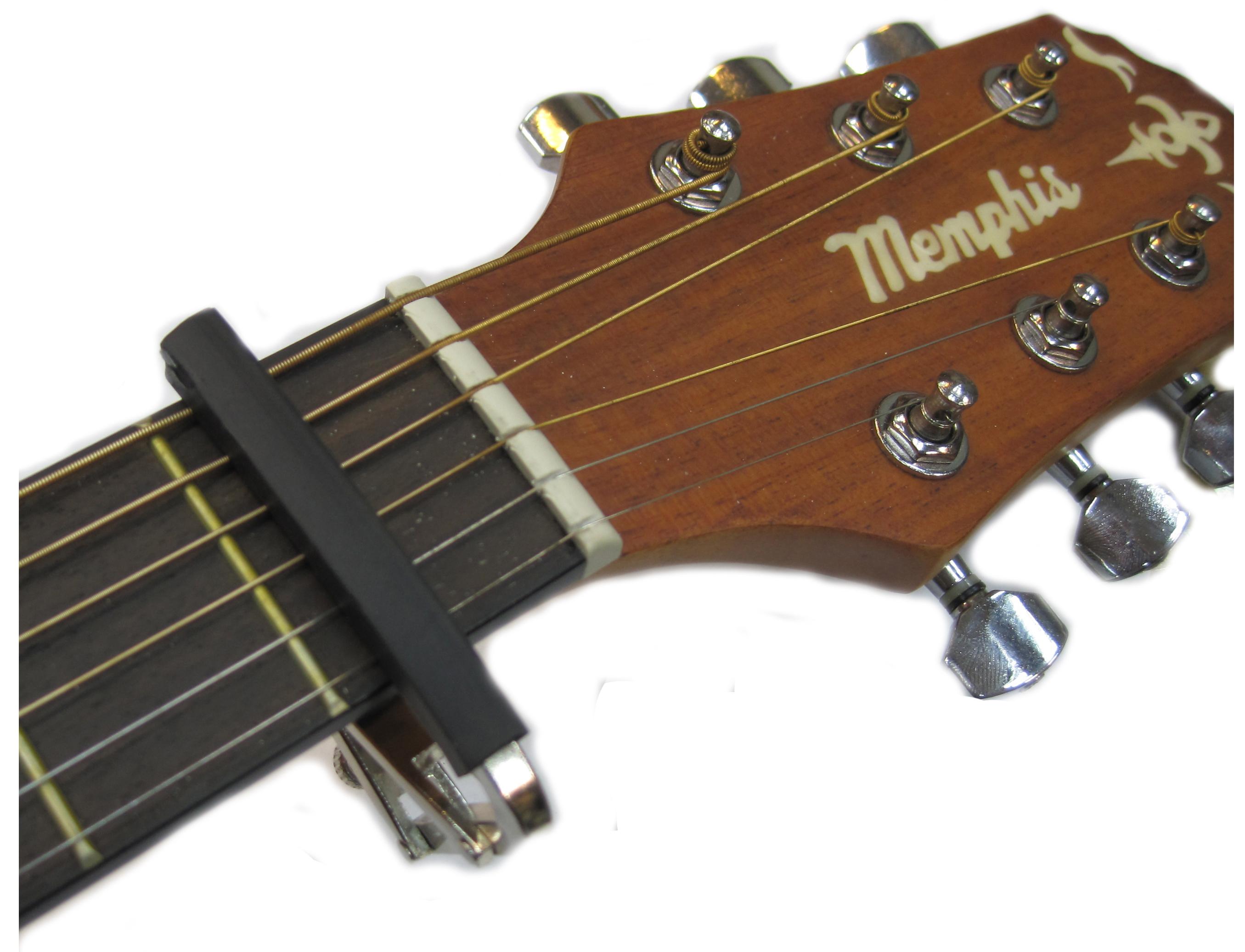 中和胡桃鉗樂器 木吉他專用移調夾 CAPO 比傳統手抓式體積更小、更輕、更耐用。
