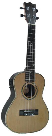 中和胡桃鉗樂器 23吋頂級紅松木全單板電烏克麗麗。超級便宜又超頂級的烏克麗麗!