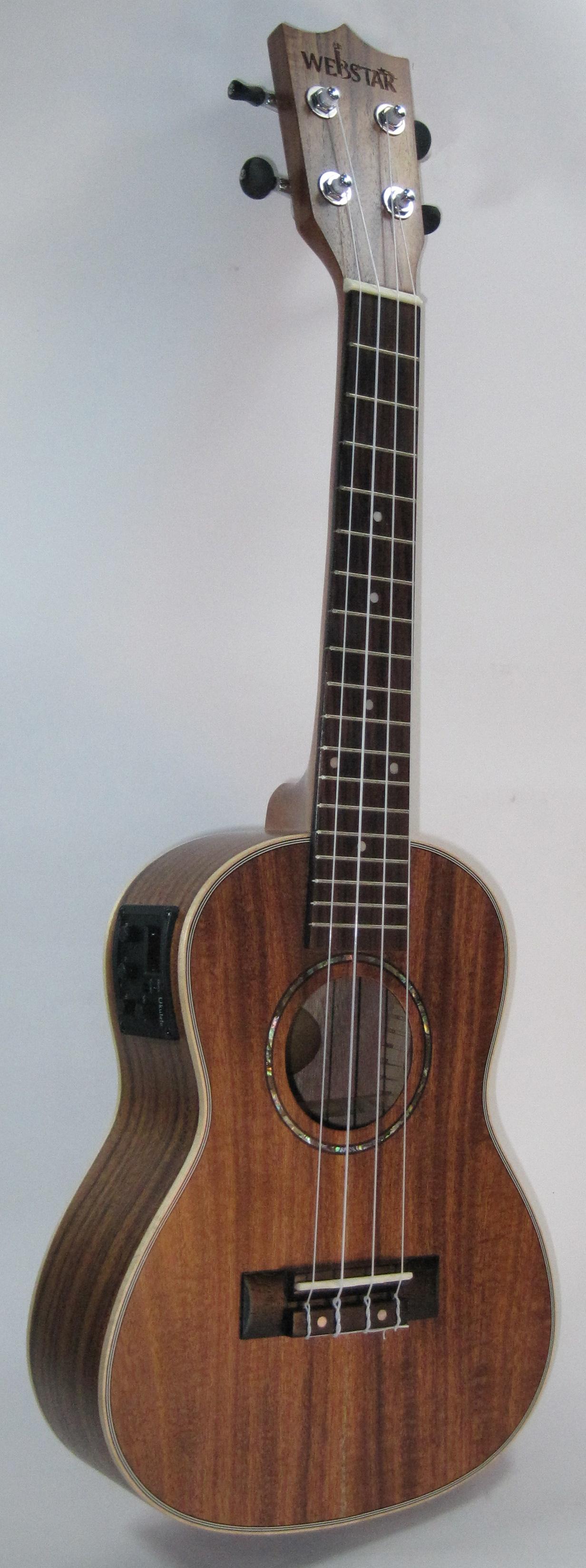 中和胡桃鉗樂器 23吋頂級相思木面單板電烏克麗麗。超乎你想像的便宜!