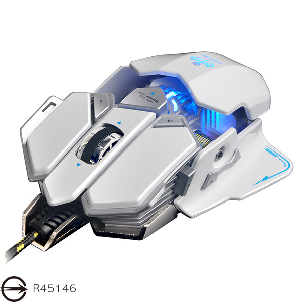 免運送鼠墊【迪特軍3C】X7變形金剛可程式電競光學滑鼠 頂級遊戲芯片 十鍵自定義 按鍵壽命達1000萬次 採機械設計