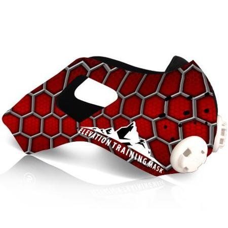 三鐵~馬拉松~鐵人單車訓練高海拔面罩Training Mask 2.0 面罩皮-蜘蛛人款M size