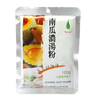 《飛馬》南瓜濃湯粉  Pumpkin Cream Soup Instant Powder Mix‧奶素‧100g