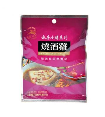 《飛馬》燒酒雞  Mixed Spices for Stew Chicken with Rice Wine‧38g