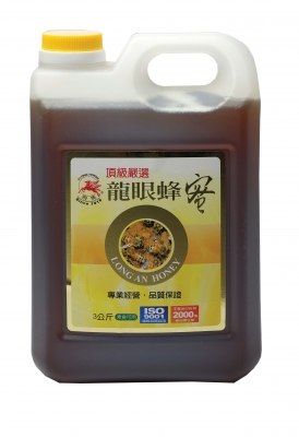 《飛馬》調和蜂蜜糖漿  Longan Honey-3Kg