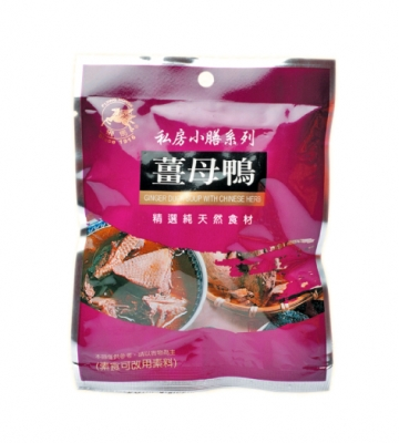 《飛馬》薑母鴨‧Ginger Dock Soup With Chinese-60g