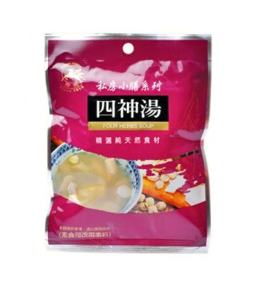 《飛馬》四神湯  Si Shen 4-herb Traditional Chinese Tonic Mix-90g