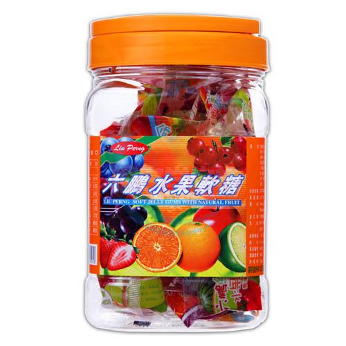 六鵬維他命水果軟糖(100gm±3%)x1